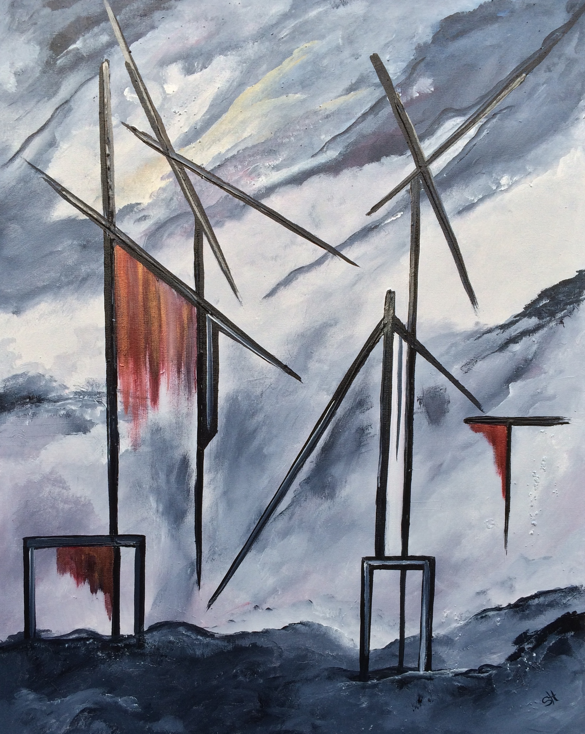 Tilting At Windmills – SOLD